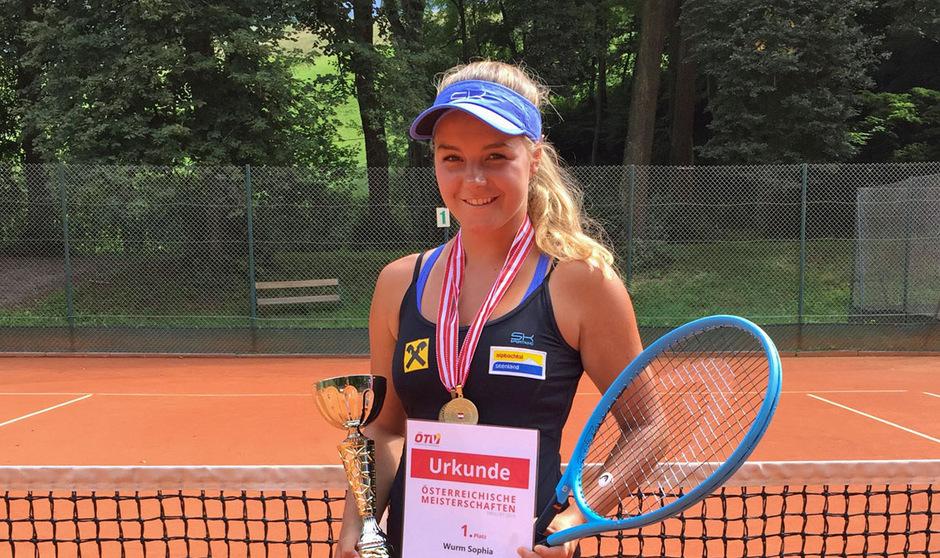 Österreichische U16-Meisterin: die Brixleggerin Sophia Wurm.