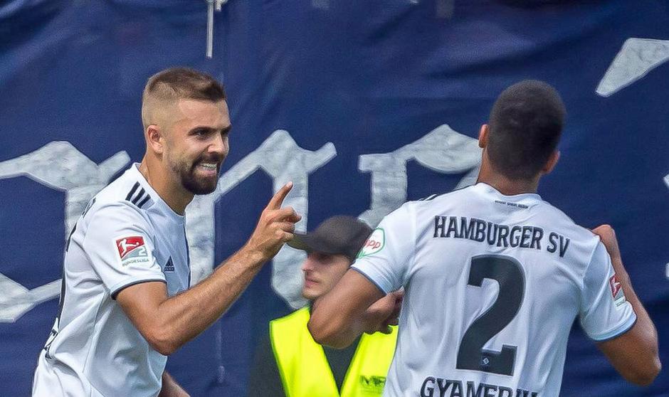 Lukas Hinterseer schoss sich beim HSV zurück in die Nationalmannschaft.