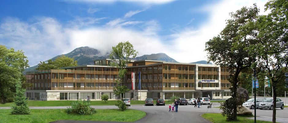 47 Familienzimmer und Suiten wird das Zugspitz-Resort bieten, das am 7. Dezember eröffnet wird. Dazu gibt es freilich einen entsprechenden Kinder- und Wellnessbereich.