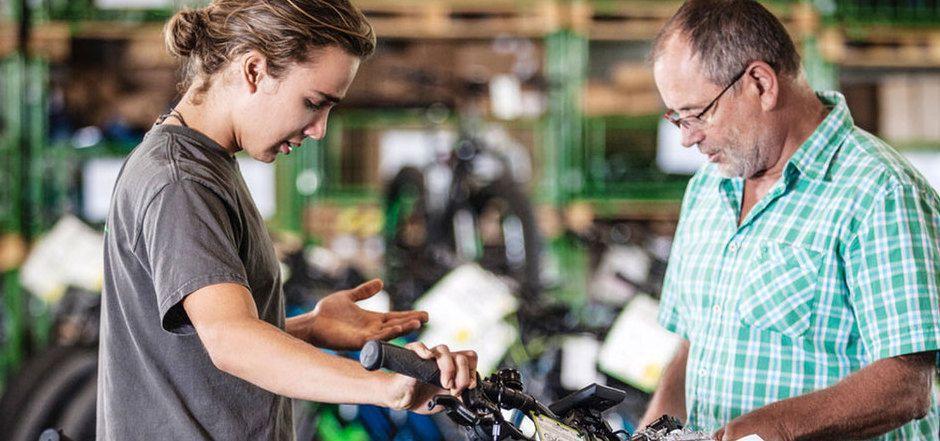 Wer ein E-Bike sucht, kann jetzt auch online nach dem passenden Modell suchen.