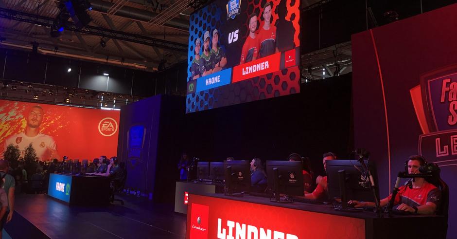 Das Team des Traktorenherstellers Lindner ist bei eSports-Events in ganz Europa dabei.