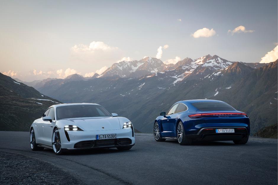Ab 156.153 Euro bietet Porsche den Taycan Turbo an, die S-Version kostet ab 189.702 Euro.