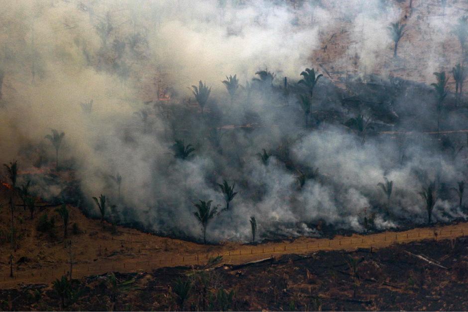Durch die zahlreichen Brände wird auch die Lebensgrundlage von vielen indigenen Völkern im Amazonas gefährdet.