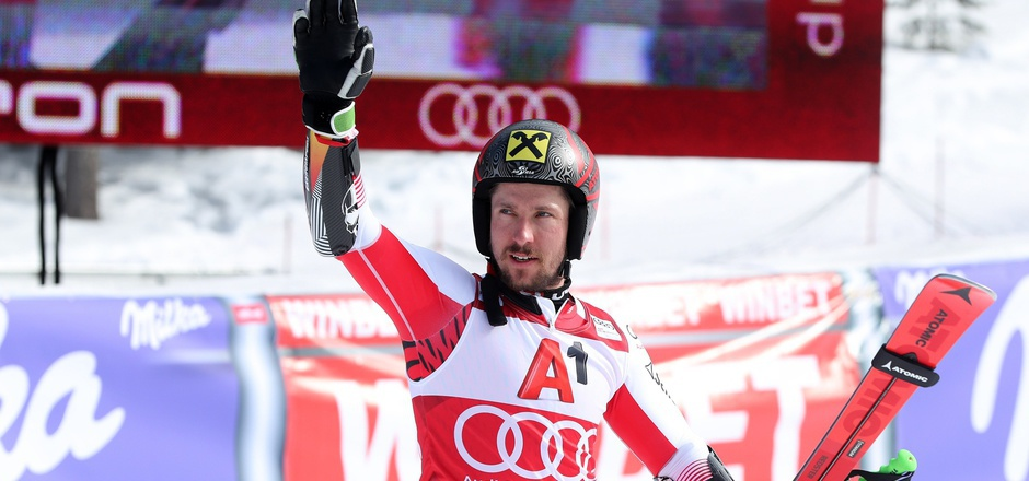 Marcel Hirscher beim FIS World Cup im Februar in Bulgarien.