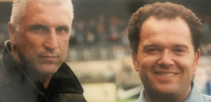 Dienstantritt im August 1994 mit Dream-Team-Coach Hans Krankl.