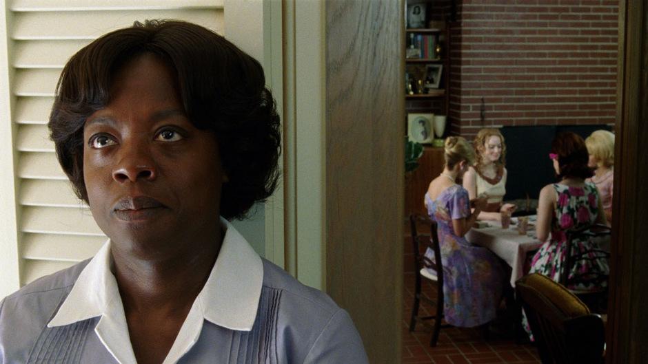 "Viola Davis in ""The Help""."