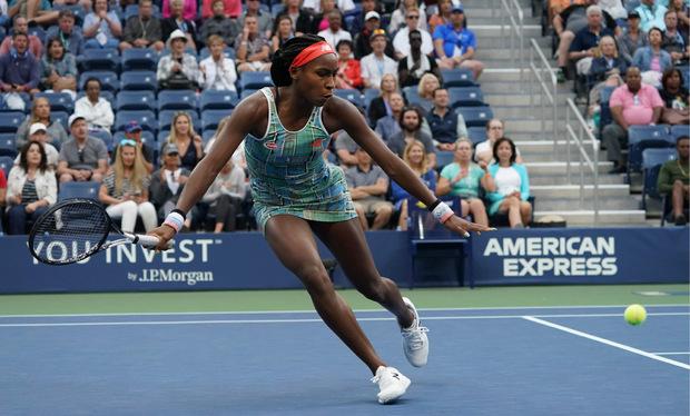 Die 15-jährige Cori Gauff trumpft auch bei den US Open auf.