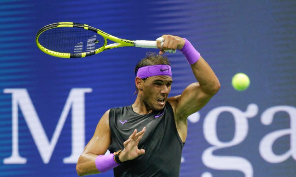 Rafael Nadal ließ gleich zum Auftakt die Muskeln spielen.