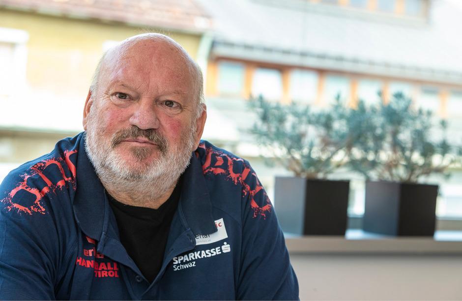 """Handball-Trainer Frank Bergemann blickt fokussiert auf den Liga-Auftakt gegen Bregenz: """"Wir haben einen schwierigen Saisonanfang."""""""