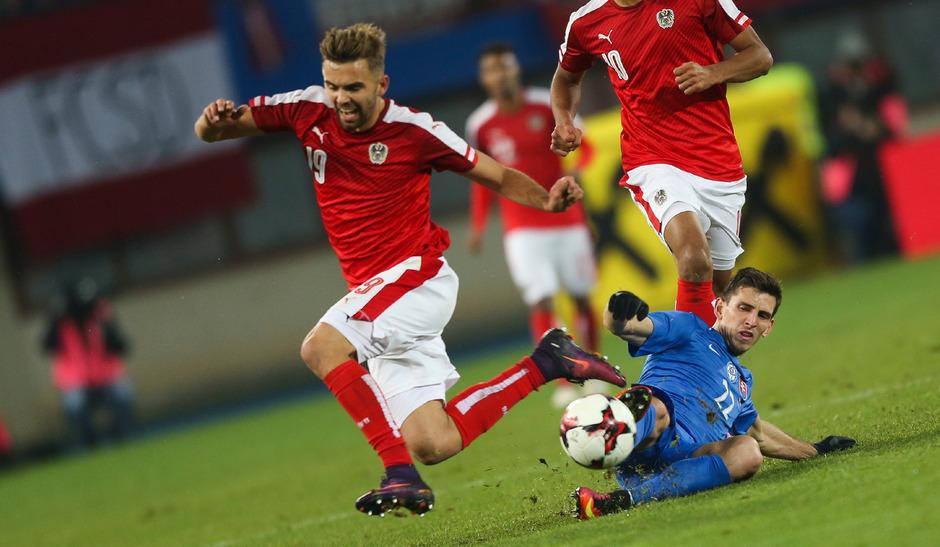 Am 15. November 2016 war der Tiroler Lukas Hinterseer letztmals im ÖFB-Einsatz. Zu seinen zwölf Länderspielen kam aber vorerst kein weiteres dazu. Das soll sich gegen Lettland (6.9.) und Polen (9.9.) ändern.