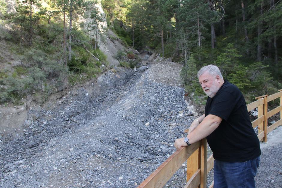 BM Willi Schatz treibt die Arbeiten weiter voran und hofft auf ein Einsatzfahrzeug für die Feuerwehr.