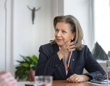 Landesrätin  Patrizia Zoller-Frischauf