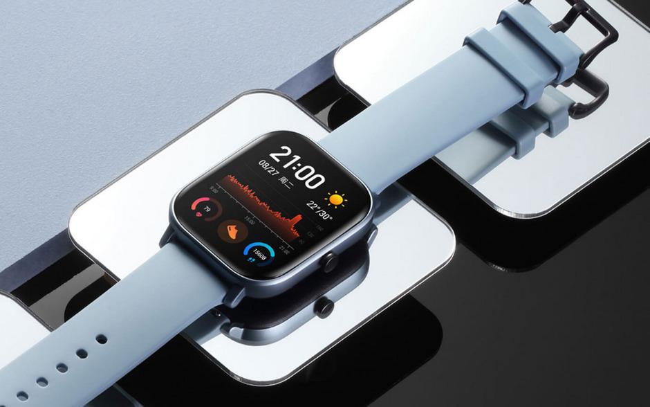 Sieht der Apple Watch verblüffend ähnlich: Die Amazfit GTS von Xiaomi-Zulieferer Huami.