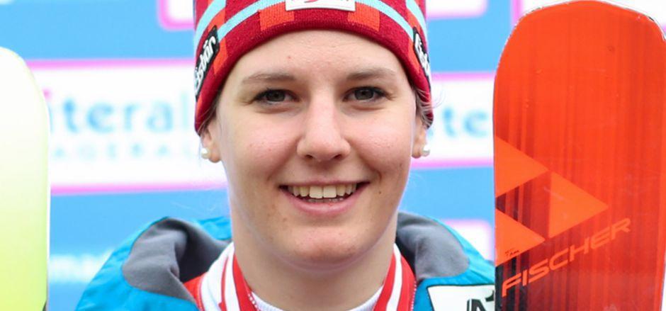 Elisabeth Kappaurer gilt als große Hoffnung im Riesentorlauf.