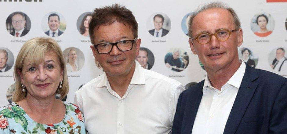 Tirols Landesrätin Palfrader und EU-Politiker Karas setzen sich für Anschobers Initiative ein.