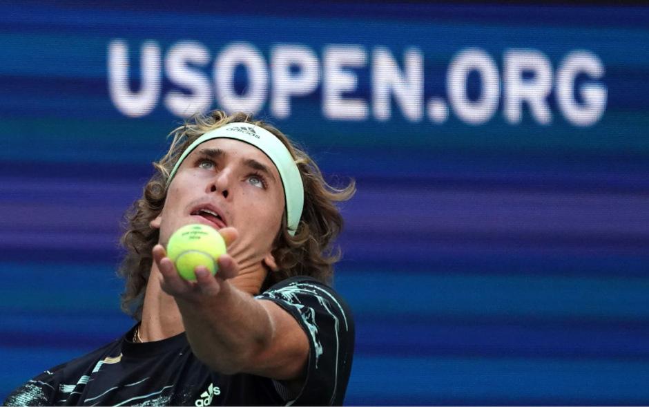 Alexander Zverev brauchte auch im zweiten Spiel bei den US Open fünf Sätze bis zum Sieg.