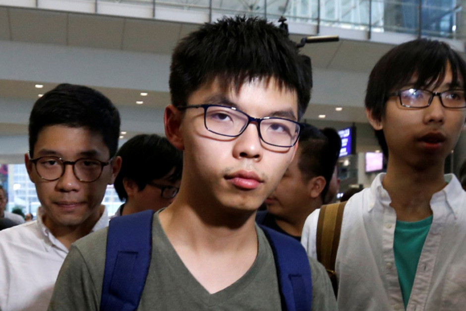 Demokratie-Aktivist Joshua Wong.