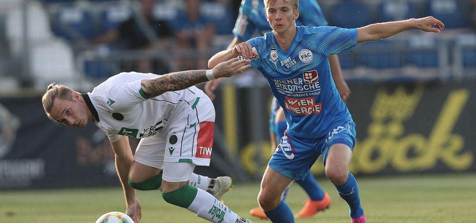 Verteidiger Thomas Kofler und der FC Wacker haben in Linz Punkte im Visier.