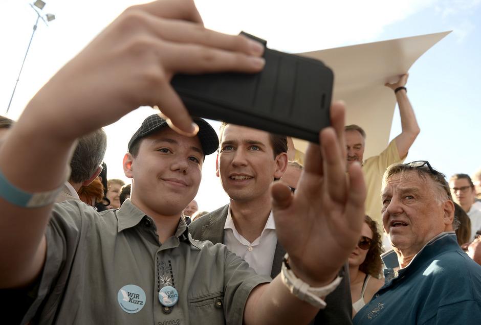 Selfies im Wahlkapf: Die heiße Phase ist gestartet.