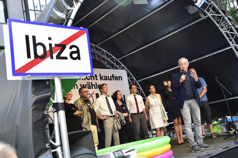 Pilz und sein Team hoffen auf Wiedereinzug in den Nationalrat.
