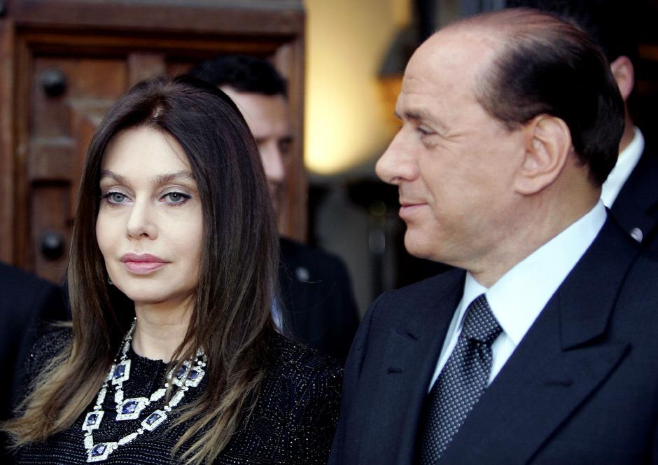 Veronica Lario und ihr Ex-Mann Silvio Berlusconi.