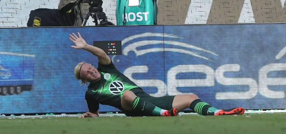 Xaver Schlager dürfte sich schwer am Sprunggelenk verletzt haben.