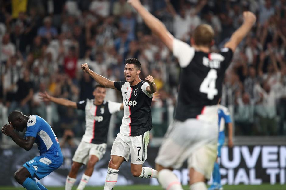 Am Ende durften Ronaldo und Co. doch noch über den fast verspielten Sieg jubeln.