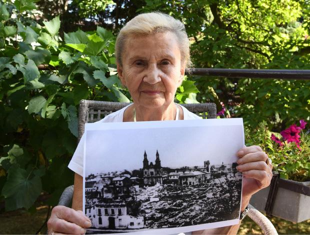 Zeitzeugin Zofia Burchacinska (91) erinnert sich genau an jenen Tag vor 80 Jahren, als ihre Stadt von deutschen Kampfbombern zerstört wurde.