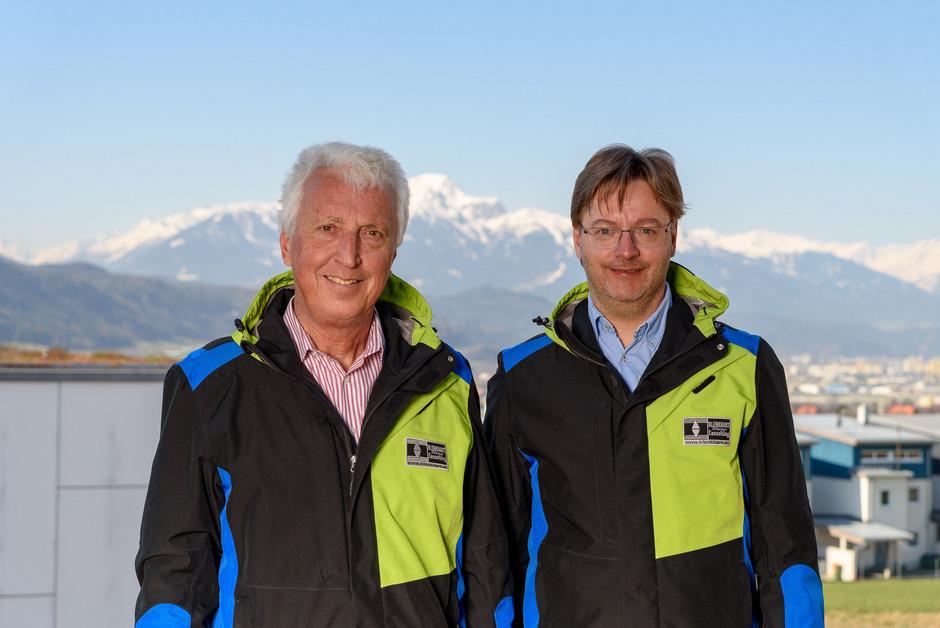 Christian Klenkhart und Christian Weiler überzeugten mit ihrem Konzept für die Nordische Ski-WM.