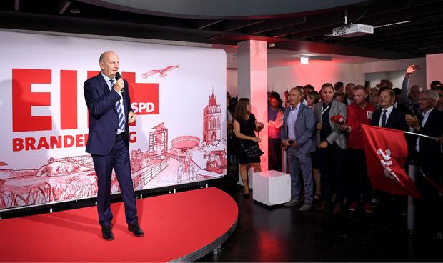 Dietmar Woidke (SPD) könnte auch weiterhin die regierung in Brandenburg anführen.