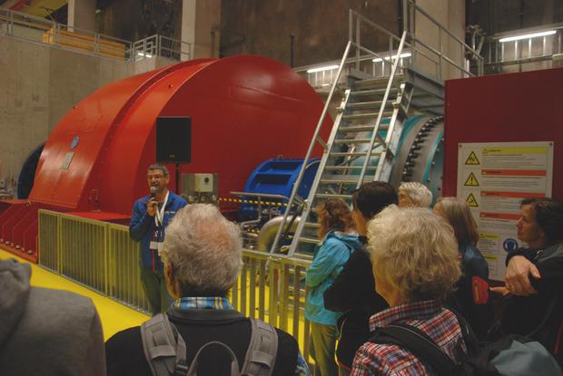 20.000 Besucher besichtigten das unterirdische Kraftwerk.