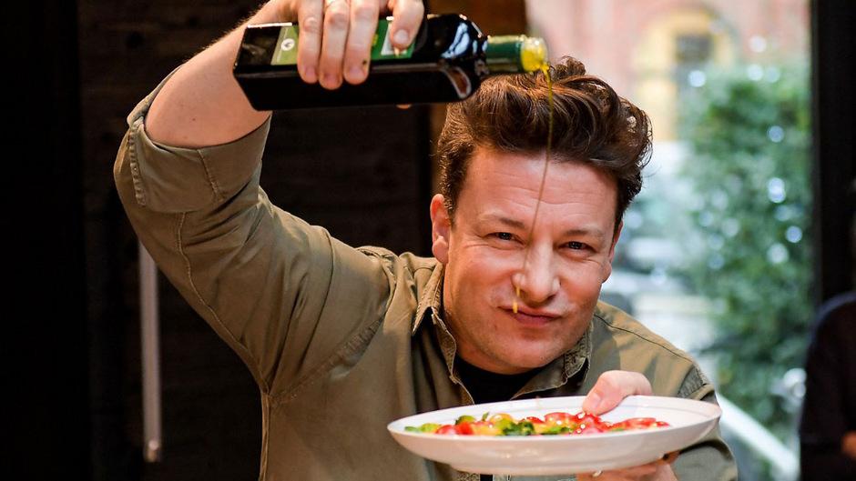 Starkoch Jamie Oliver.