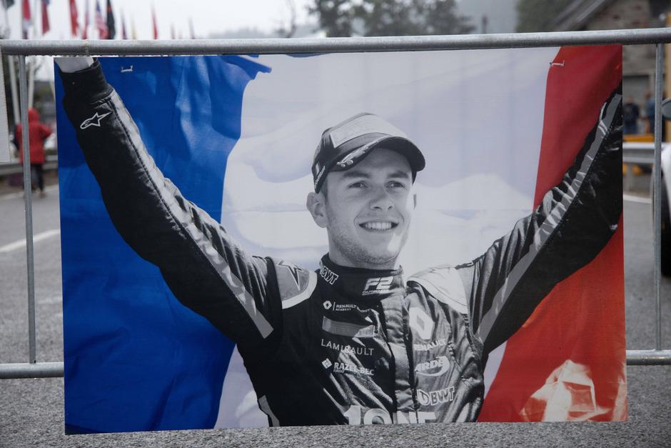 Der Formel-1-Sonntag stand im Zeichen des Gedenkens an den verunfallten F2-Piloten Anthoine Hubert.