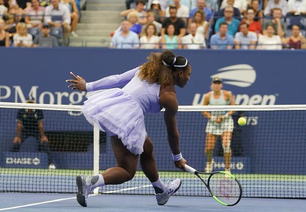 Im Tutu setzte Serena Williams bei den US Open in New York 2018 neue Maßstäbe.