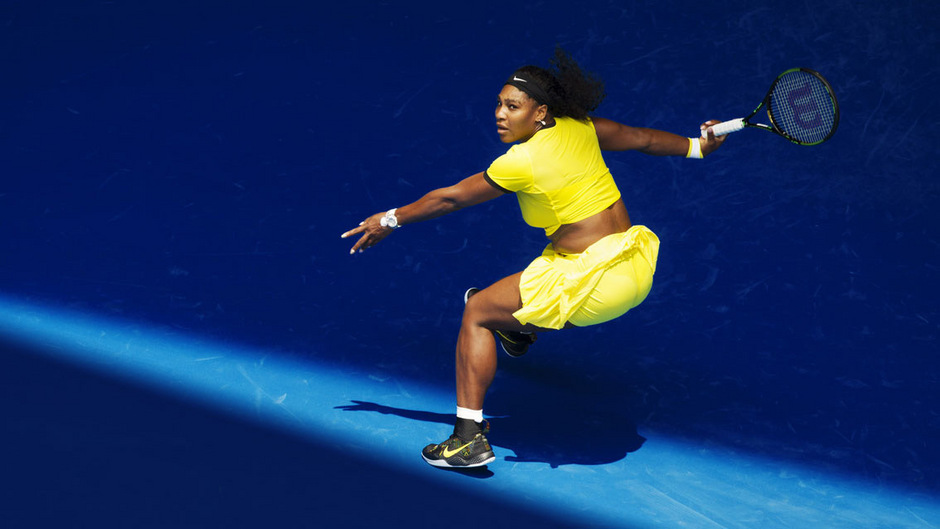 2016 war sie in Neongelb auf dem Center Court der Australian Open erfolgreich.