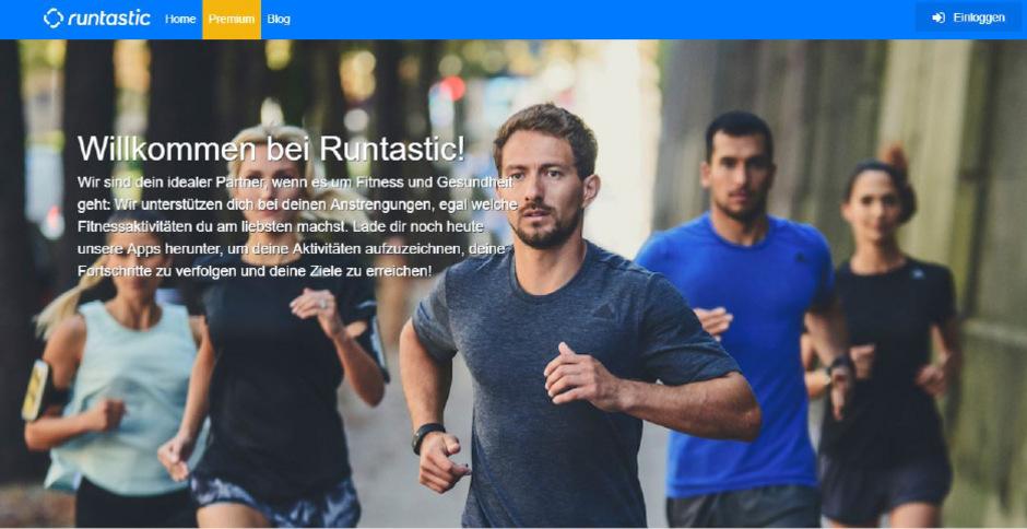 """Auf runtastic.com können Nutzer nur noch ihre Privatsphäre-Einstellungen verwalten, die mit der App aufgezeichneten Aktivitäten exportieren sowie die kostenpflichtige Mitgliedschaft zu """"Runtastic Premium"""" kündigen."""