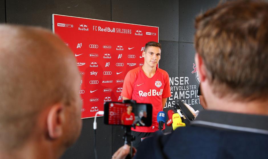 Rekord-Transfer: ÖFB-Verteidiger Maximilian Wöber wechselte für 12 Millionen Euro von Sevilla zum FC Red Bull Salzburg.
