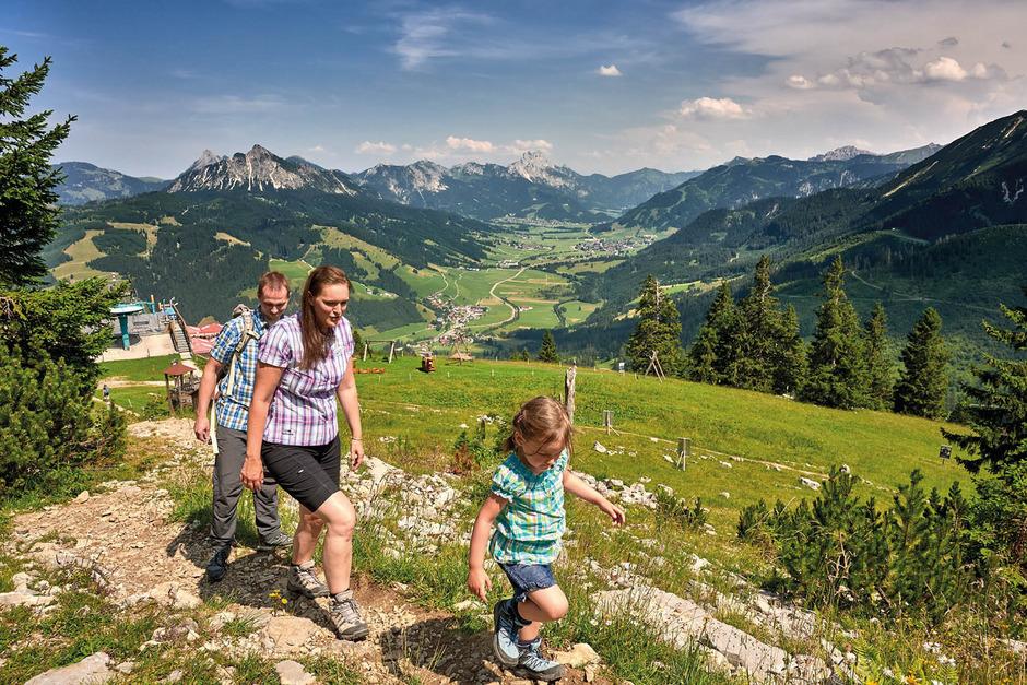 Tausende Leser des deutschen Wandermagazins bewerteten das Tannheimer Tal als die Top-Wander-Adresse Österreichs.