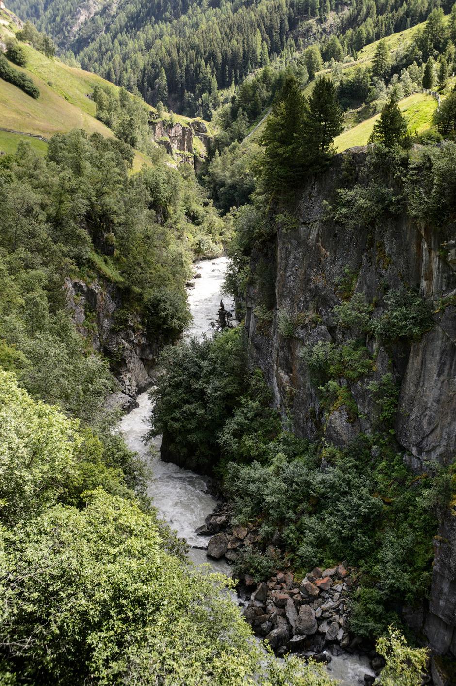 Das Wasser der Venter Ache wird sowohl von der Tiwag für KaunertalII als auch für ein Kraftwerk der Gemeinde Sölden benötigt.