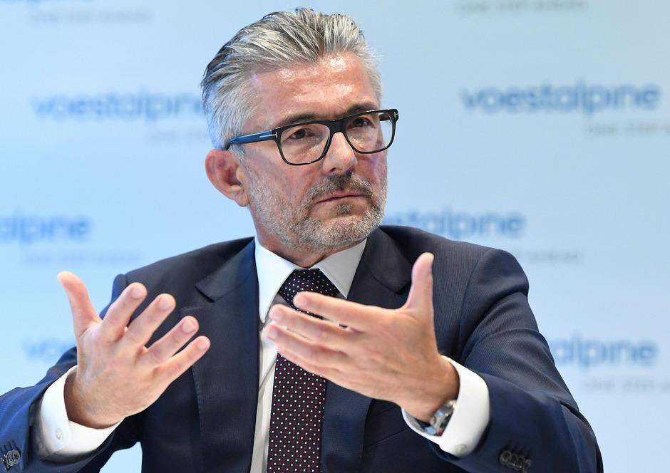 voestalpine-Konzernchef Herbert Eibensteiner