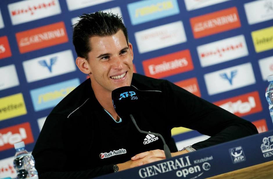 Dominic Thiem nimmt mit dem ÖTV-Team das Weltgruppen-Play-off ins Visier.