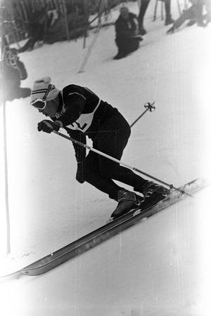 1968 kurvte im Riesentorlauf Heinrich Messner zu Olympia-Bronze.