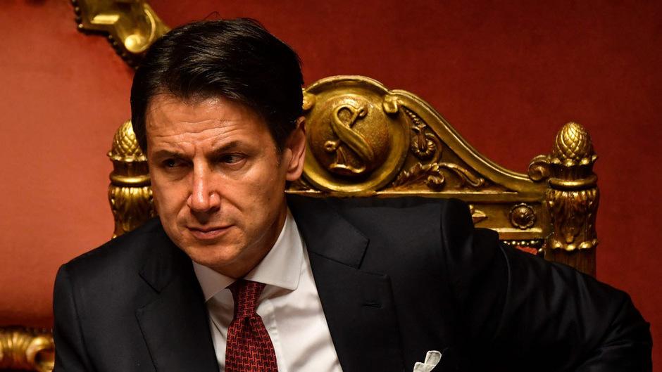 Italiens Premier Conte.