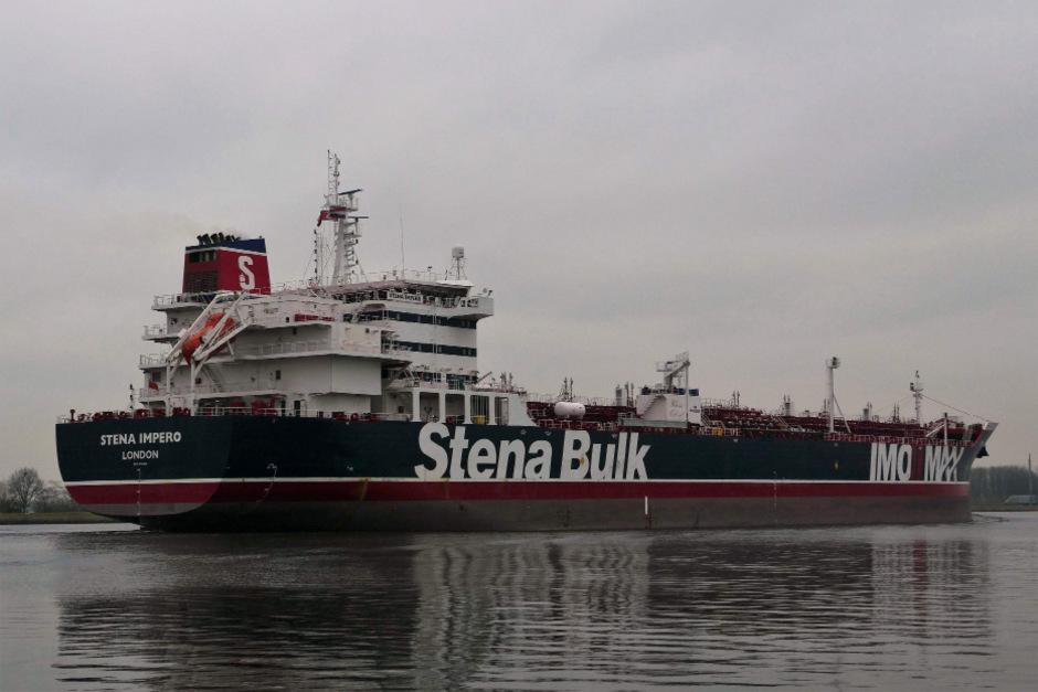 Im Juli wurde der britische Tanker im Iran beschlagnahmt.