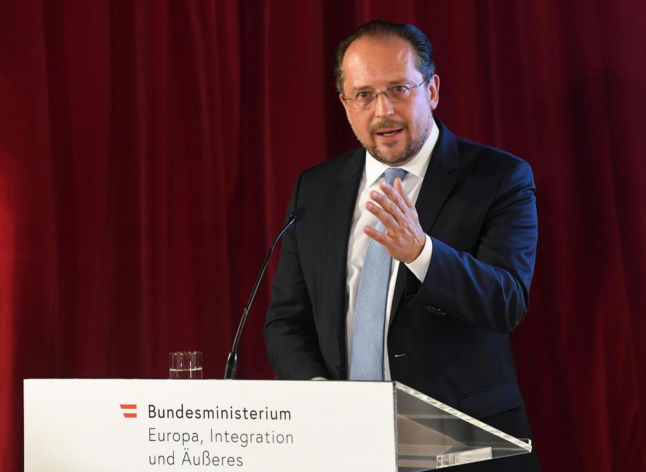 Außenminister Alexander Schallenberg.