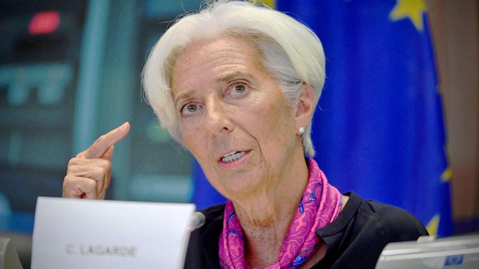 Die designierte EZB-Chefin Christine Lagarde.