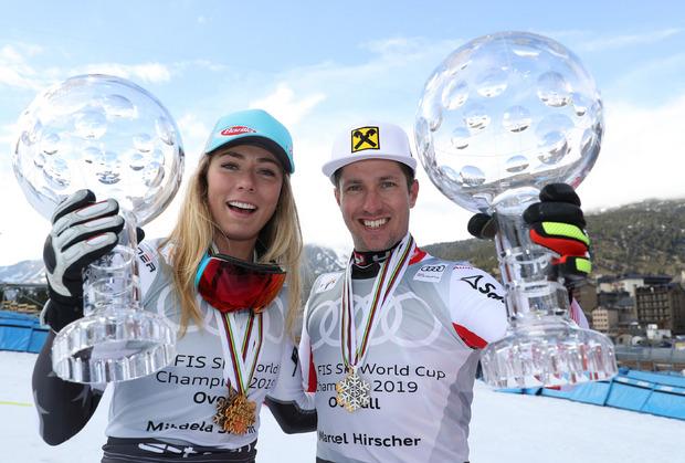 Der letzte Vorhang: Nach der achten großen Weltcupkugel in Serie macht Hirscher Schluss.