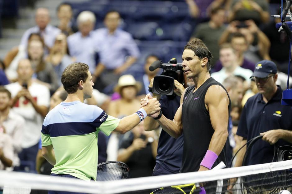 Nadal war für Schwartzman eine Nummer zu groß.