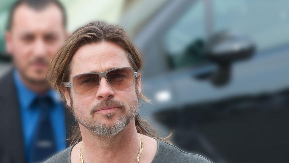 Schauspieler Brad Pitt.