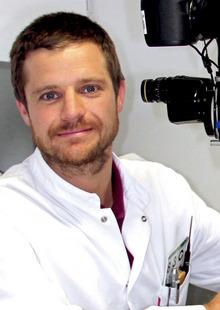 Bernhard Steger von der Univ.-Klinik für Augenheilkunde und Optometrie